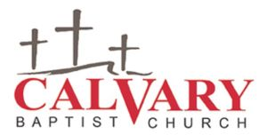 Calvary Baptist Church's homepage